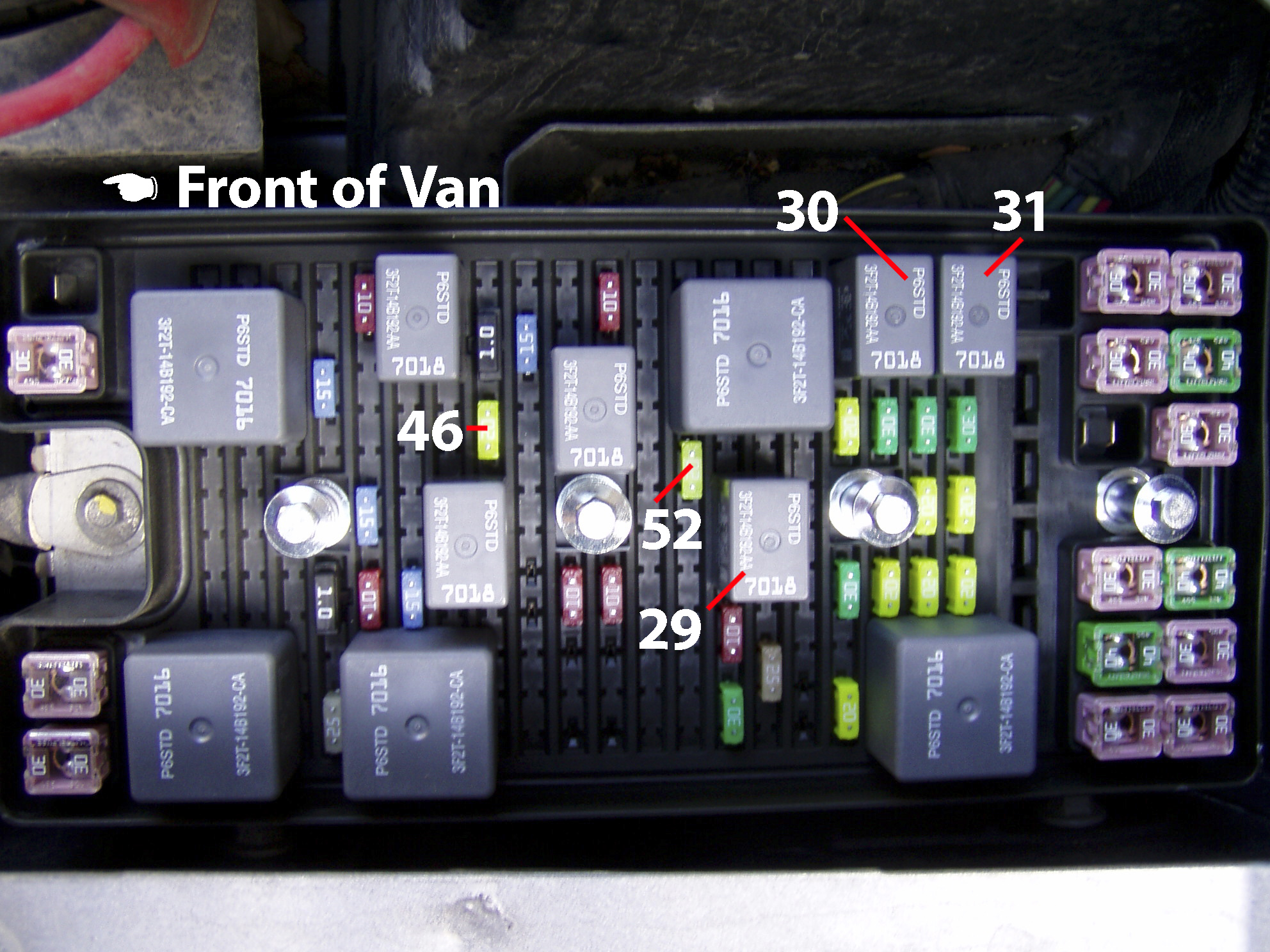 2005 Ford Freestyle Fuse Box Layout
